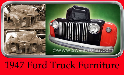 1947 Ford Truck Furniture