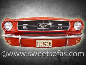Mustang Automotive Furniture Wall Hanging Art