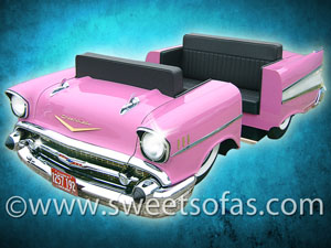 Pink 1957 Chevrolet Diner Booth