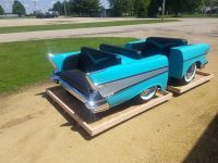 1957 Chevrolet Diner Booth Car Furniture