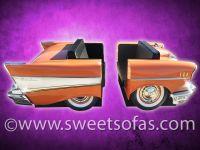 57 Chevrolet Bel Air Diner Booth