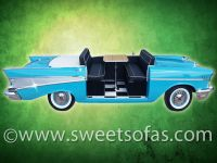 57 Chevrolet 3 Sided Full Car Booth