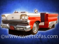 59 Ford Full Car Booth