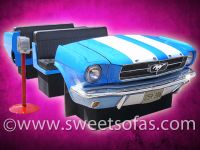 65 Ford Mustang Full Car Booth With Intermediate Seating