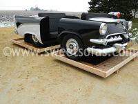 1956 Dodge D500 Police Car Booth