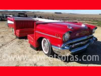 57 Chevy 3 Sided Full Car Booth