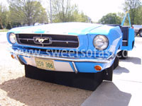 1965 Mustang Full Car Booth