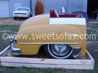 1949 Plymouth Full Car Booth Rear