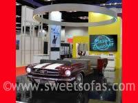 65 Mustang 3 Piece Custom Booth
