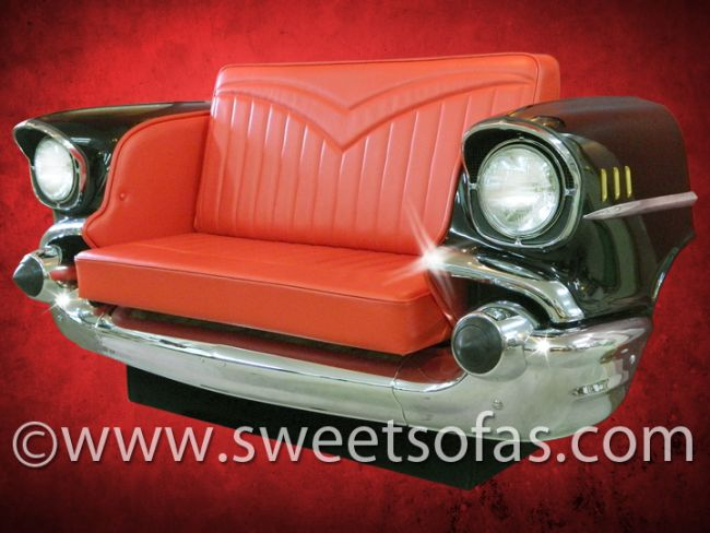 57 Chevrolet Front End Sofa