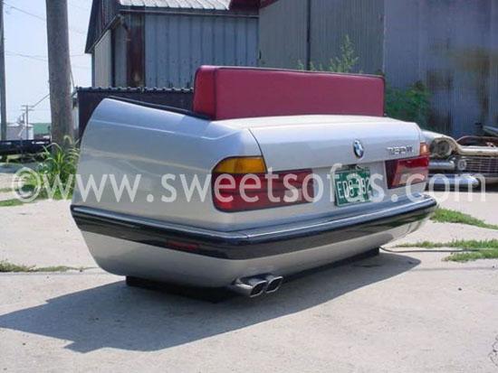 1988 BMW Car Couch