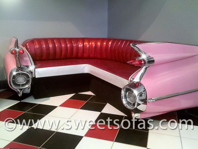 Cadillac Wrap Around Couch