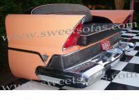 1957 Lincoln Premier Rear Sofa