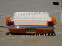 1965 Mustang Rear Sofa