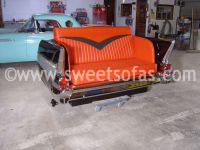 1957 Chevy Bel Air Sofa | Sweet Sofas Chadwick, IL