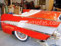 1957 Chevy Couch/Display