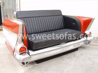 1957 Chevy Rear Hide A Bed Sofa