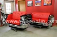 57 Chevy Front and Rear Sofas