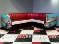 57 Chevy Wrap Around Couch