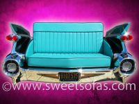 Car Furniture | 59 Cadillac Rear Sofa