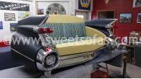 59 Cadillac Rear Sofa Vintage Auto Furniture