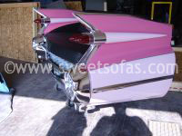 59 Cadillac Rear Sofa