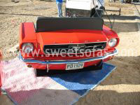 1965 Mustang Front Reverse Sofa