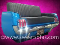 65 Mustang Rear Couch