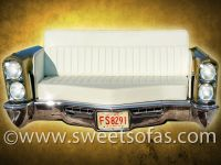 Car Furniture | 66 Cadillac Front Couch