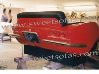 1963 Corvette Rear Reverse Sofa