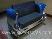 57 Chevy Rear Sofa| Car Furniture