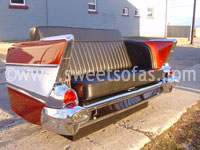 1957 Chevy Rear Sofa