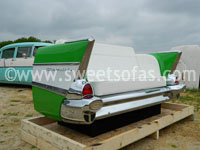 1957 Chevy 210 Rear Couch