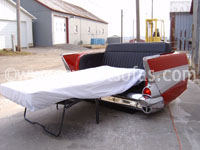 1957 Chevrolet Rear Couch Hide A Bed