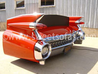 1959 Cadillac Rear Couch