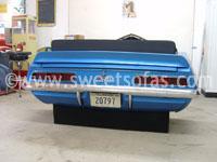 1969 Chevrolet Camaro Rear Car Sofa