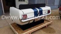 65 Ford Mustang Rear Reverse Sofa