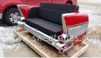 57 Chevy Bel Air Rear Couch