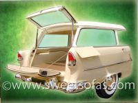 55 Chevrolet Wagon Display