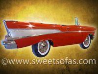 57 Chevy Full Side Wall Hanger