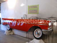 57 Chevy Full Side Wall Hanging