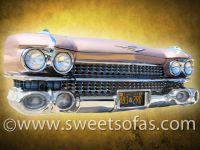 59 Cadillac Wall Hanger