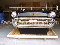 57 Chevrolet Display