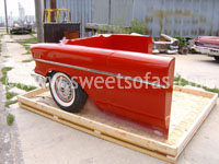 57 Chevy Counter Wrap Side View