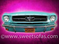 65 Mustang Wall Hanger
