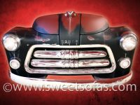 Dodge Truck Front End Patina Display