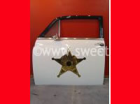 Police Car Door Wall Hanging