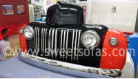 47 Ford Truck Free Standing Bar Front