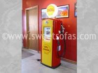 1950s Shell Gas Pump