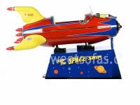Bally Space Ship Kiddie Ride